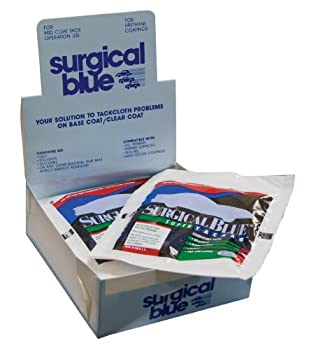 Surgical Blue Tack Rags - 12 Pack  Made in USA