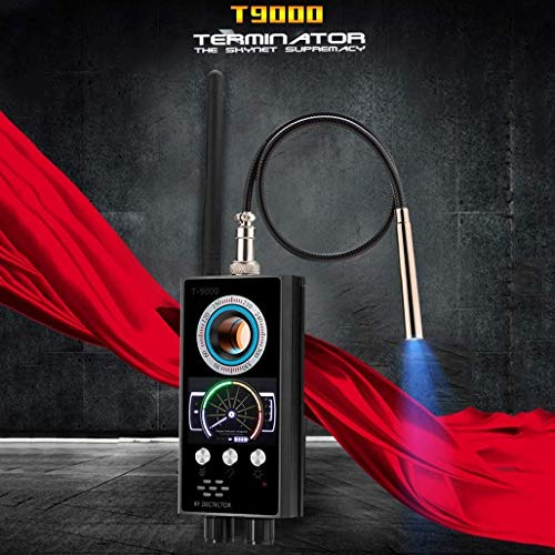 YXYOL HF-Detektor Wireless-Scanner, Wanzen-Detektor, versteckte Kamera Finder Pinhole Laser-Objektiv-GSM-Gerät Finder, Spy Finder für Belauschen, Candid Video, GPS-Tracker