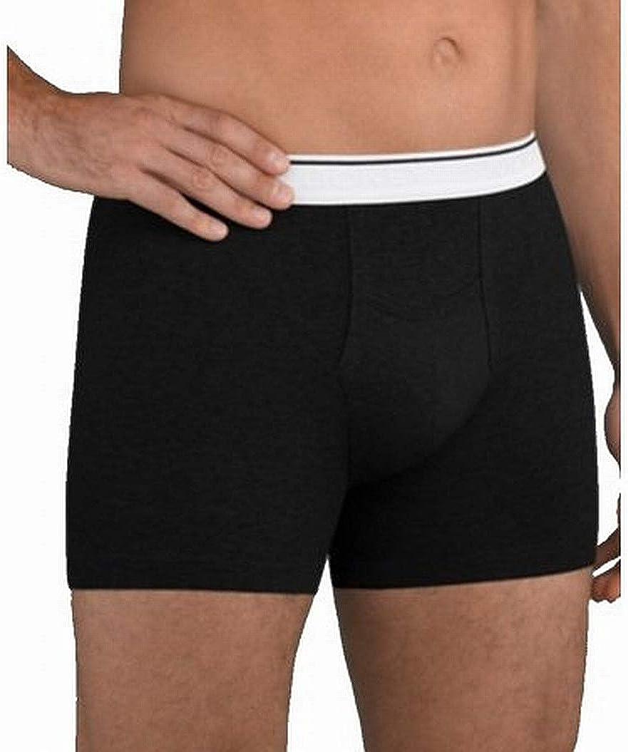 Jockey Men's Underwear Pouch Boxer Brief - 2 Pack, Black