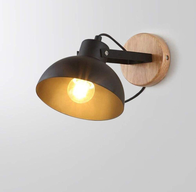 Schlafzimmer-Nachttischlampe kreative Gang-Treppenhaus-Balkon-Wandleuchten Woody Wall Lighting Lighting Lighting B07PWWZHK4 | Überlegen  99dc1e
