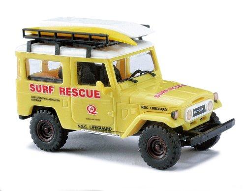 Busch Voitures - BUV43008 - Modélisme Ferroviaire - Toyota Land Cruiser J4 - Surf Sauvetage