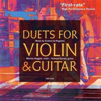 Giuliani & Paganini: Duets for Violin and Guitar