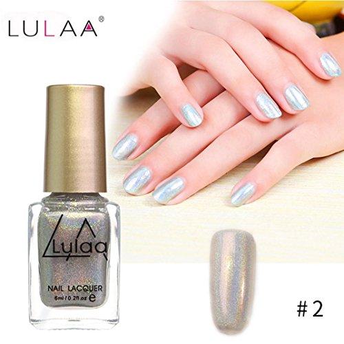 IGEMY LULAA 10ML Farbe Gel Nagellack Nail Art, Gelpoliermittel UV LED Gelpoliermittel (B)