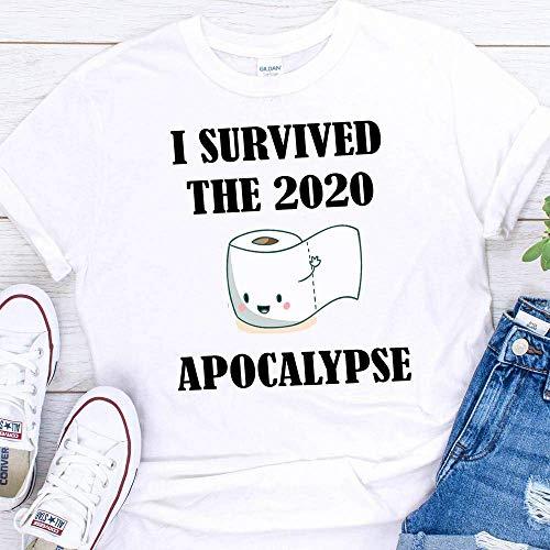 2020 Toilet Paper Apocalypse Crisis Funny Coronavirus Pandemic T-Shirt For Men Women Adults Shirt