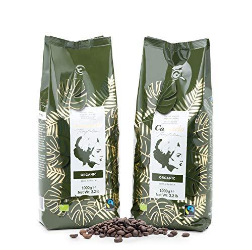 Café en grains Consuelo, bio et issu du commerce équitable, 2x1kg