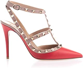 VALENTINO Luxury Fashion Womens SW2S0393VOD95B Red Sandals | Fall Winter 19