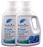 Earthview Laundry Detergent, Fragrance Free, 2 pk/ 50 oz- Designed for Environmental Sensitivities (MCS, EI, MI)
