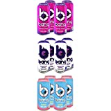 VPX Bang Energy Drink, Variety Pack, Carbonated, Zero Sugar, Xtreme Energy, Zero Calories, Vitamin...