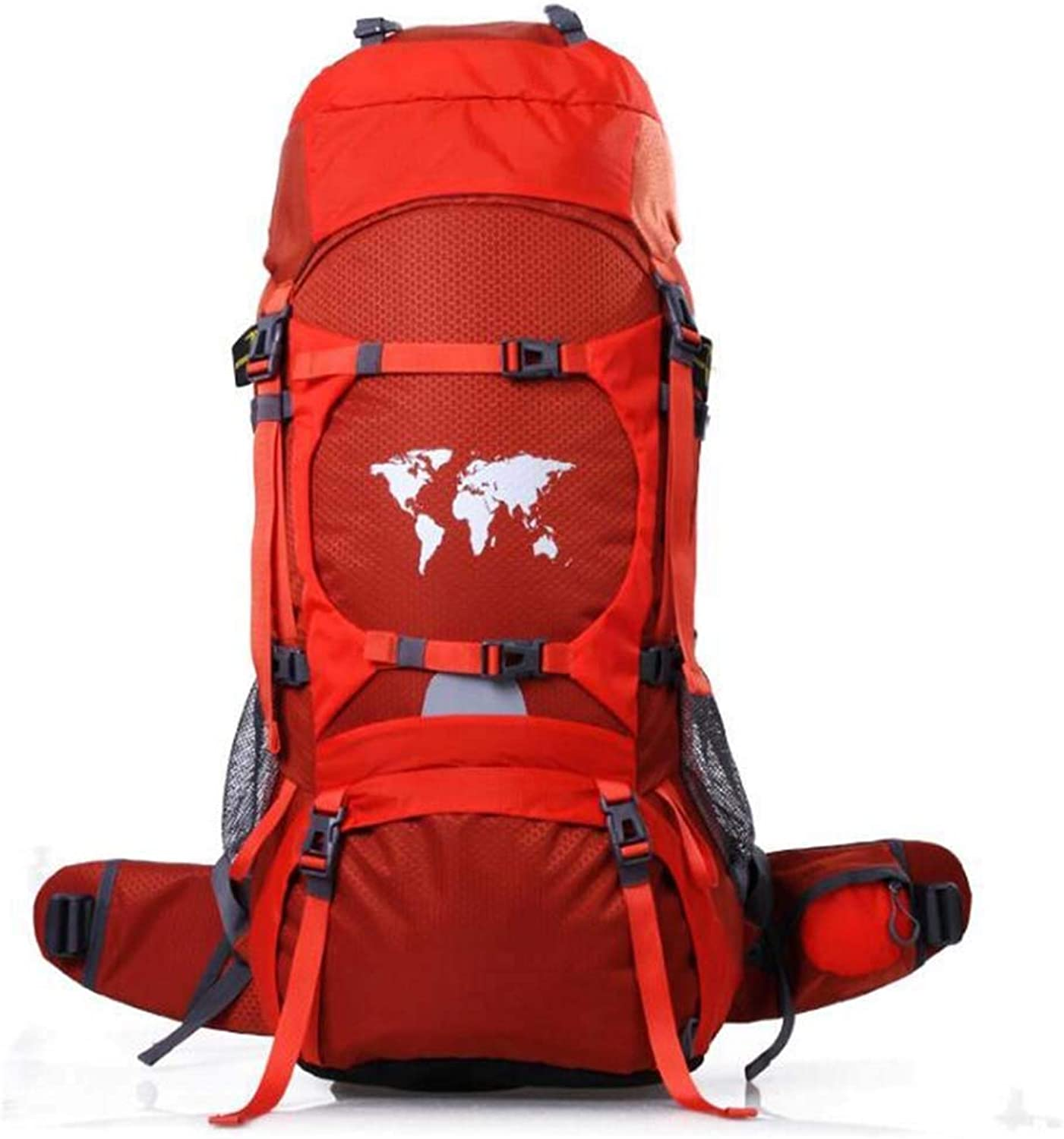 Large Hiking Backpack Camping Large Capacity Mountaineering Bag 70 Liters Leisure Sports Outdoor Travel Climbing Camping Backpack Strong Wearable Multi-Function Outdoor Backpack Multi-color Optional