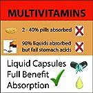 MEGA MULTIVITAMIN Capsules for Women Men - Vitamins and Minerals Liquid Capsules Supplement + Coq10 #2