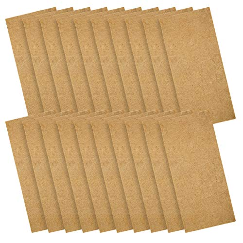 """Pack of 20 Jute Plant Grow Mat- Hydroponic Grow Pads Fits for Standard 10"""" X 20"""" Germination Tray Home Microgreens Growing Kit for Wheatgrass Sprouts and Organic Production"""