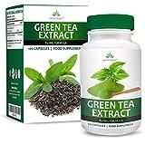 Extrait de Thé Vert - 850mg Thé Vert Pur avec EGCG - Dose Maximum - Green Tea Extract - Pour Hommes et Femmes - 120 Capsules (4 Mois d'Approvisionnement) de Earths Design