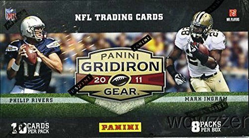 2011 Panini Gridiron Gear NFL Football Factory Sealed Retail Box with 80 Cards ! Look For Rookies & Autographs of Cam Newton, Andy Dalton, AJ Green and all the Top 2011 NFL Draft Picks !