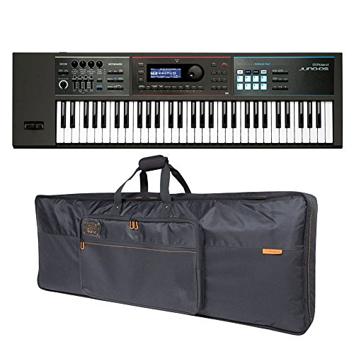 Best Deals! Roland JUNO-DS61 61-key Synthesizer and Premium Black Series Keyboard Bag Bundle