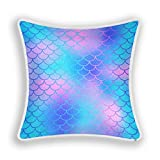 Blueangle Magic - Fundas de almohada de 45 x 45 cm, cuadradas, de felpa, decorativas, fundas de cojín para sofá, sofá, hogar, decoración de granja