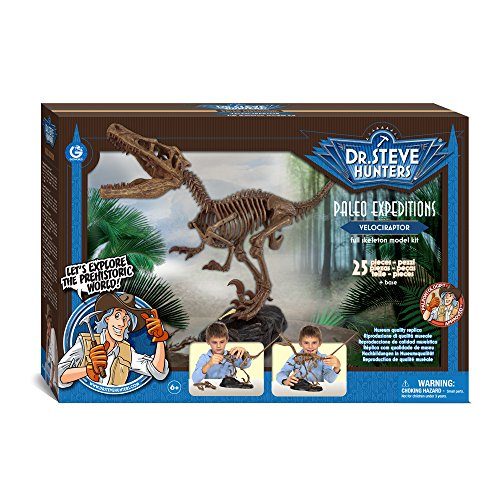 Dr. Steve Hunters cl1648 K – Paleo Expeditions, Velociraptor