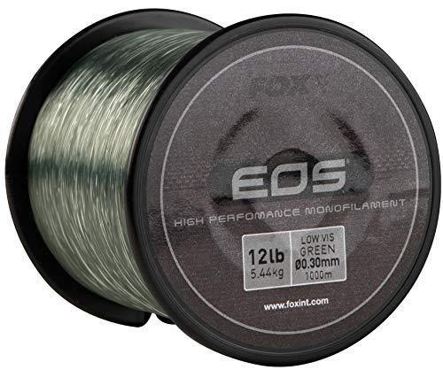 Fox EOS Carp Mono Fil monofil pour pêche à la carpe 1000 m, 0.35mm   8.16kg   18lb