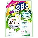 ボールド 洗濯洗剤 液体 洗濯水をデトックス グリーンガーデン&ミュゲ 詰め替え 約2.5倍(1490g)