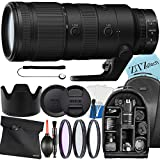 Nikon NIKKOR Z 70-200mm f/2.8 VR S Telephoto Zoom Lens for Nikon Mirrorless Cameras + ZeeTech Accessory Bundle with Backpack, Hood, 3 Pcs Filter Kit (UV CPL FLD) and Case