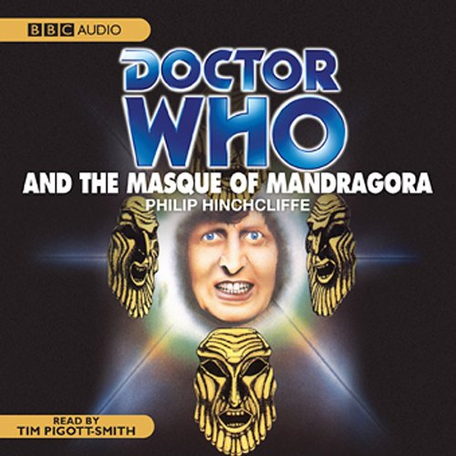 Doctor Who and the Masque of Mandragora audiobook cover art
