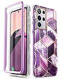 i-Blason Glitzer Hülle für Samsung Galaxy S21 Ultra (6.8