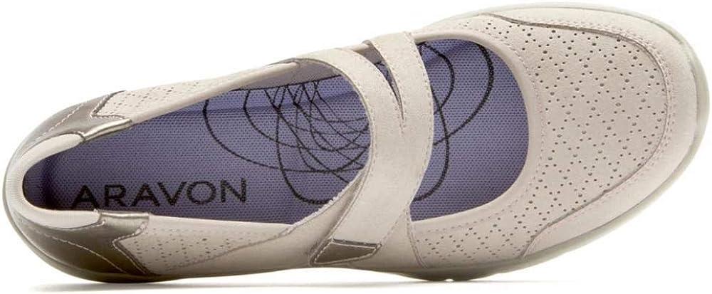 Aravon Womens Wembly Mary Jane Fashion Sneaker