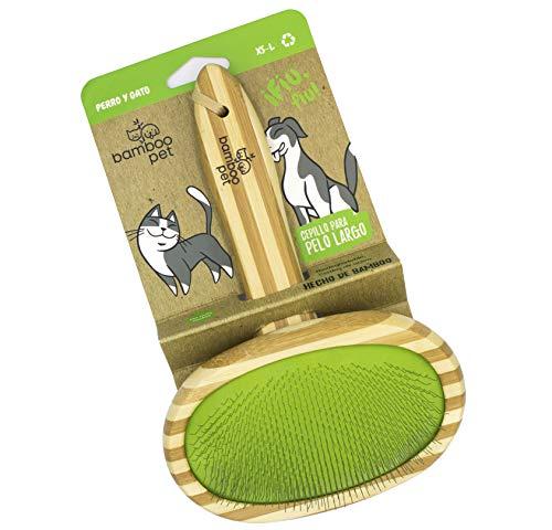 Cepillo Para Gatos Pelo Largo  marca Bamboo Pet