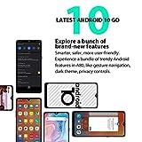Blackview A80 4G Mobile Phone Android 10, 6.21 inch HD+ Screen, Four Rear Camera, Quad Core 2GB+16GB, 4200mAh Battery, 8.8mm Thickness Sleek&Slim Design, DUAL SIM Free Smartphone Unlocked, GPS Blue Img 1 Zoom