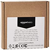 AmazonBasics USB 3.1 Type-C to 4 Port USB Adapter Hub - Black