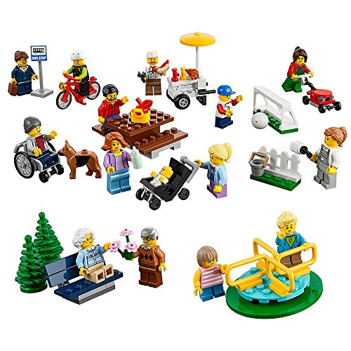 LEGO® City Town Fun in the Park - City People Pack 60134 Building Toy