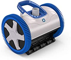 The Hayward AquaNaut 200 Suction Cleaner features patented V-Flex technology with self-adjusting variable vanes that maximize suction power while virtually eliminating clogs Multiple pre-programmed steering sequences ensure end-to-end coverage, inclu...