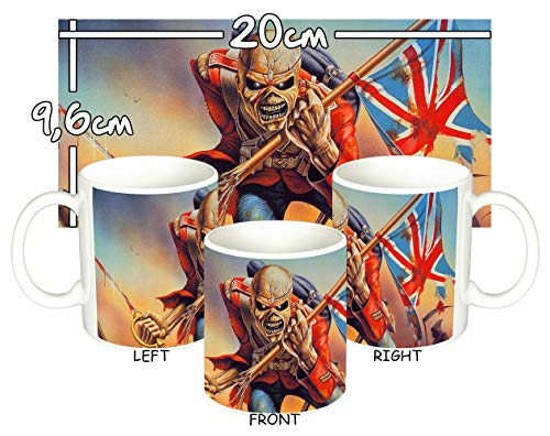 Iron Maiden The Trooper B Tasse Mug