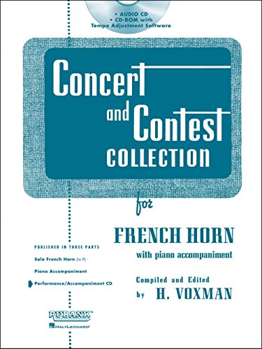 Price comparison product image Rubank Concert And Contest For F Horn - Accompaniment CD