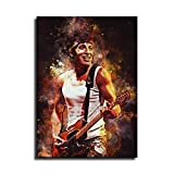 Bruce Springsteen 7 Aquarell Kunst Dekorative Malerei