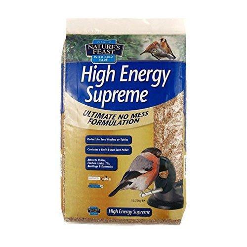 Nature's Feast ALTA ENERGIA Supreme Uccello alimentatore di Seme Mix , 12.75 kg