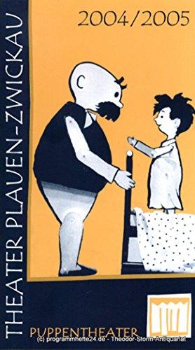 Programmheft Puppentheater Spielzeit 2004 / 2005