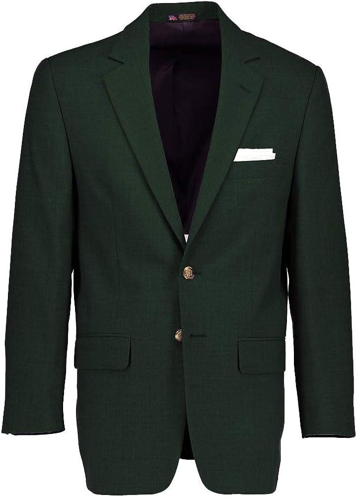 Hardwick Classic Fit Traveler Hunter Green Blazer