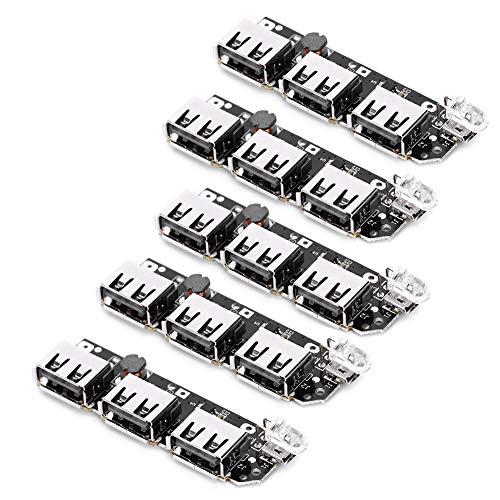 Nicoone 5 unids banco cargador módulo 3USB DIY placa de circuito móvil componente electrónico 5V2.1A