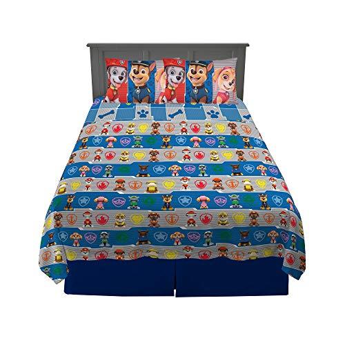 Franco Kids Bedding Super Soft Sheet Set, 4 Piece Full Size, Paw Patrol