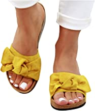 womens sandals yellow