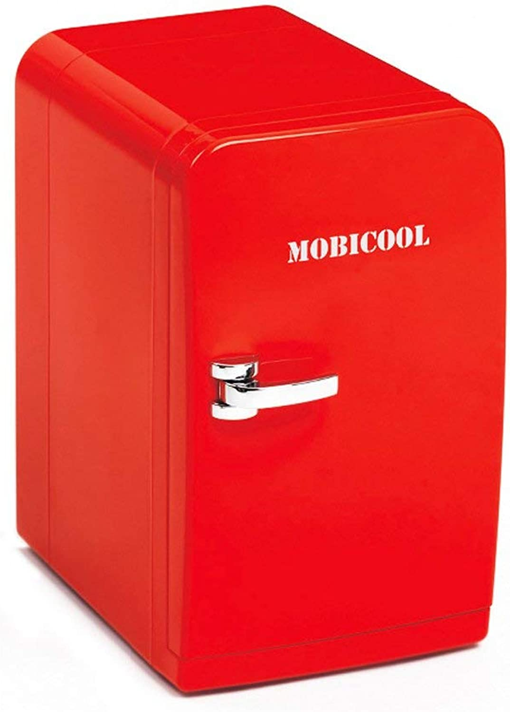 WJSWBX 5L rot Refrigeration Car Kühlschrank, kaltes und warmes Auto Dual-Use-Portable einfach zu 220V AC   12V DC bringen