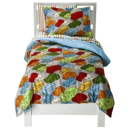 Circo Around Town Bed Set - Full - Bed Accessories - Home Collections in Bedroom - Toddler Bedding.