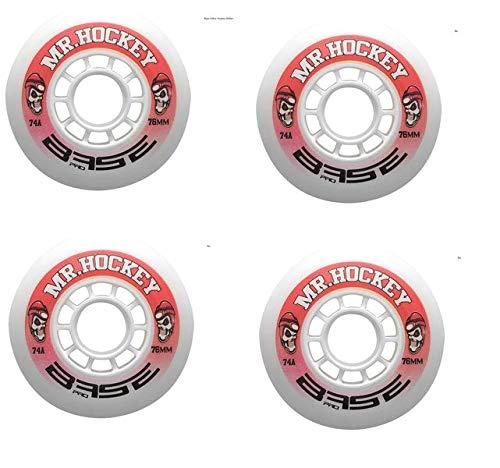 Base - Base Indoor Mr. Hockey Pro Rollen - 4er Set 72 mm