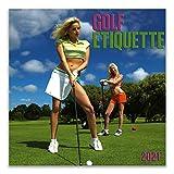 Golf Etiquette 2021 Wall Calendar