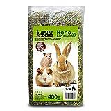 MovilCom® - Heno de Alta montaña para Hamster heno Natural para Mascotas pequeñas heno con Hierbas 400g