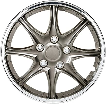 SUMEX 5089914 Suzuka Satin Wheel Trims 14-inch - Set of 4