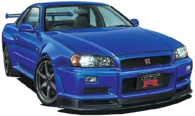 venta caliente en línea 1 24 The The The Best Coche GT No.51 R34 Skyline GT-R (japan import)  ahorra hasta un 30-50% de descuento