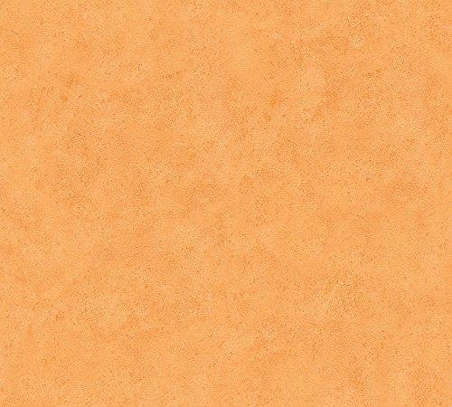 A.S. Création Papiertapete Boys and Girls Ökotapete Tapete Kindertapete 10,05 m x 0,53 m orange Made in Germany 758828 7588-28