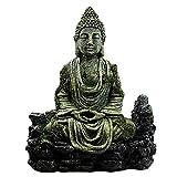 LYXMY Statua di Buddha in Resina rettili Acquario Decorazione Hotel Regali Decorazione Simulazione casa Fai da Te Accessori Acquario