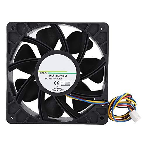 Koelventilatoren, SHLF 1212FHE-06 DC12V 1.5A 12CM 4Pin PWM Temperatuurregeling Koelventilator Koeler Ondersteuning voor pc Computer/laptop